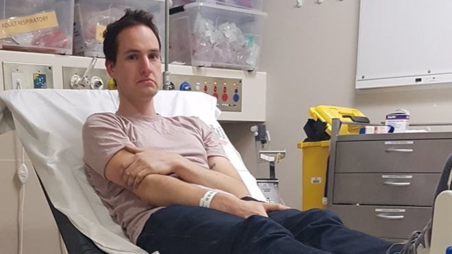 Coronavirus-fighting Australian scientist hospitalized after getting magnets stuck in nose