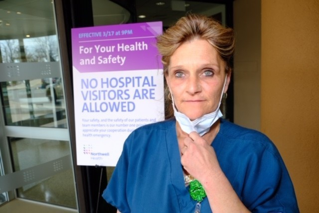 HOMETOWN HELPERS: Staten Island health care worker Kim Fish says a daily prayer on the front lines of coronavirus treatment