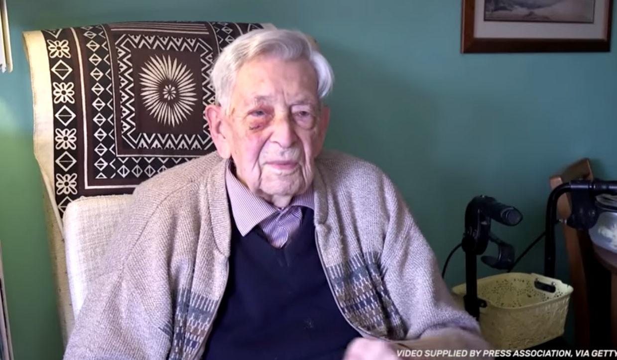 Englishman celebrates 112th birthday as Guinness World Record holder