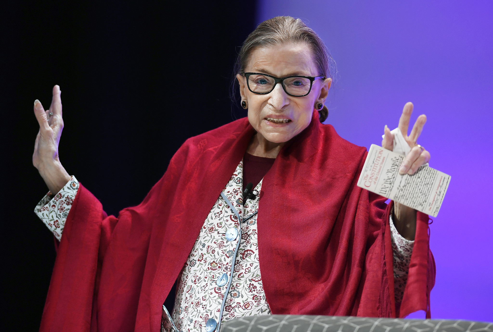 Ruth Bader Ginsburg bends coronavirus rules to pump iron: 'Hey, she ain't having it'