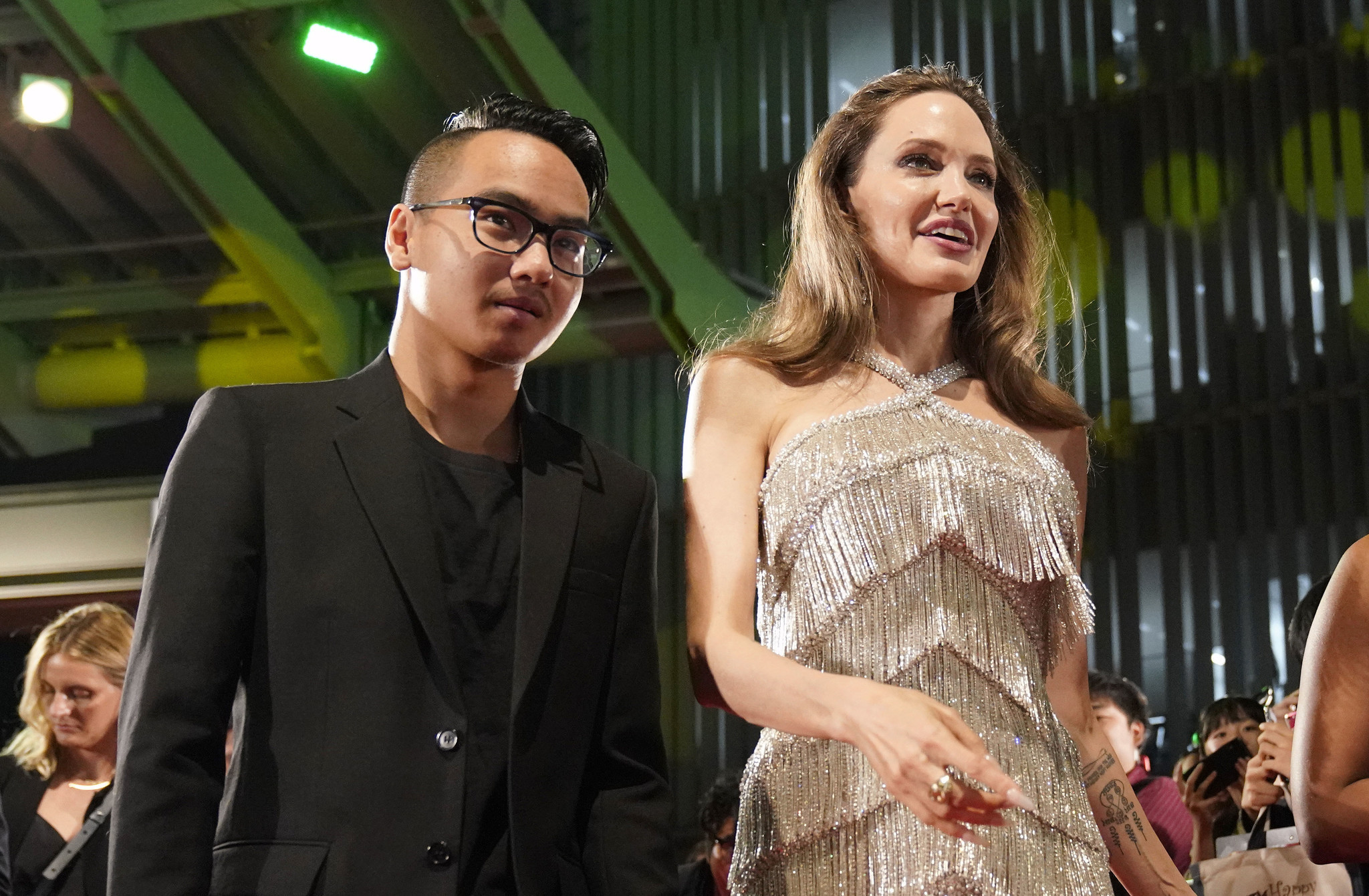 Angelina Jolie's son Maddox home from college in South Korea amid coronavirus