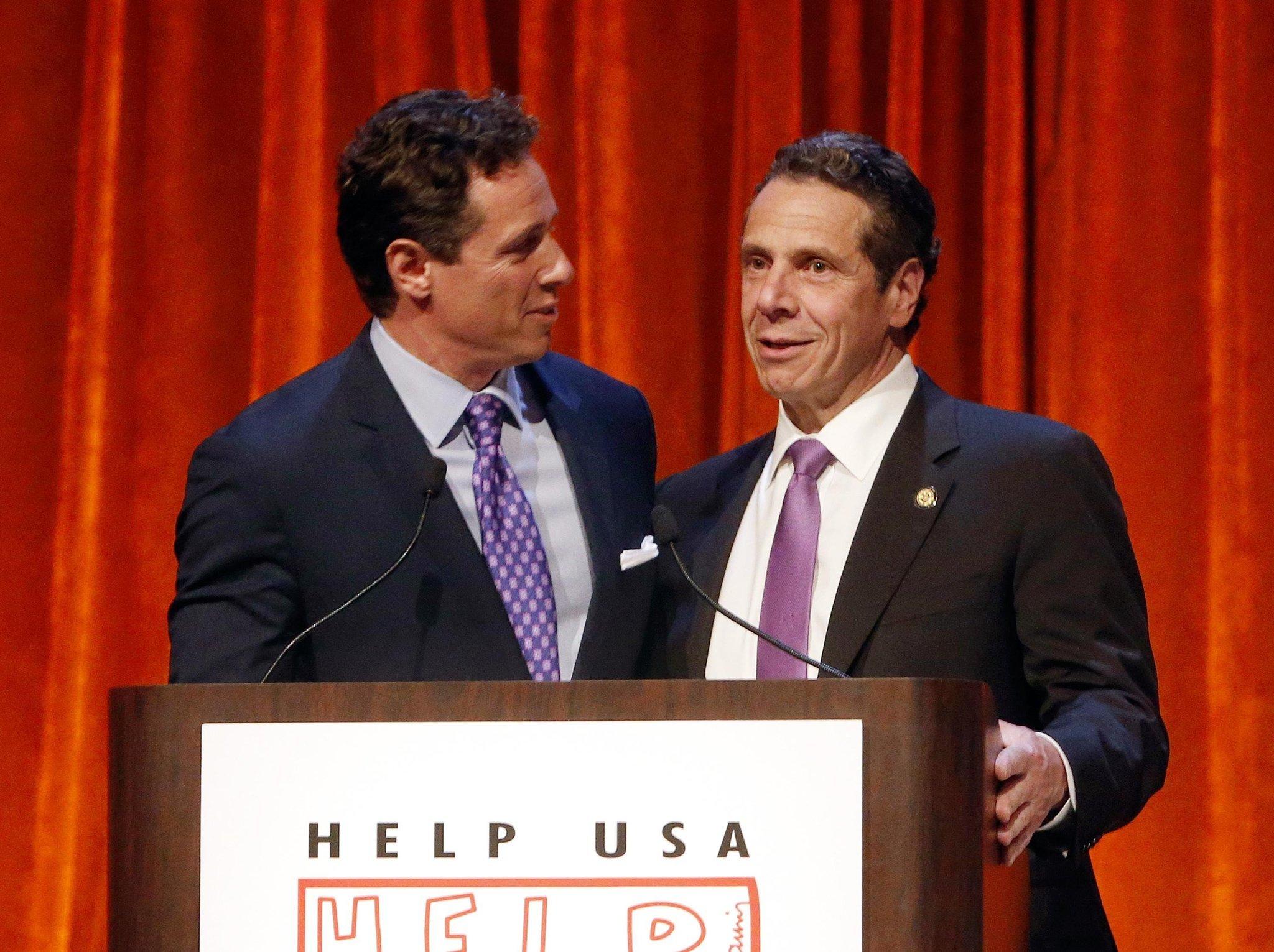 Andrew Cuomo says dad Mario would be proud of 'gutsy' coronavirus-stricken Chris