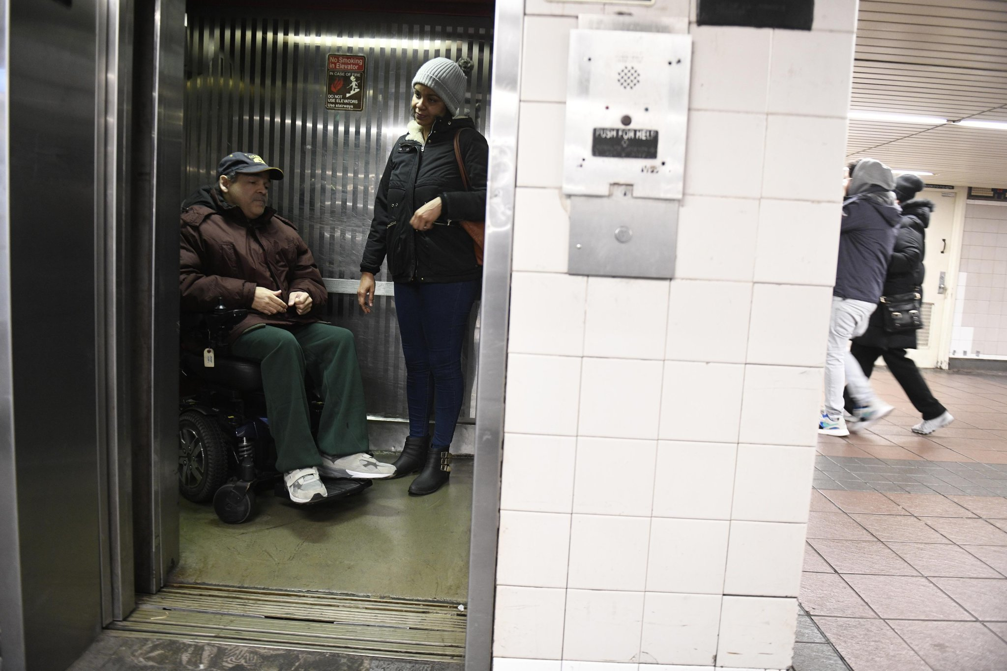 MTA's shoddy elevators do not violate rights of the disabled: judge