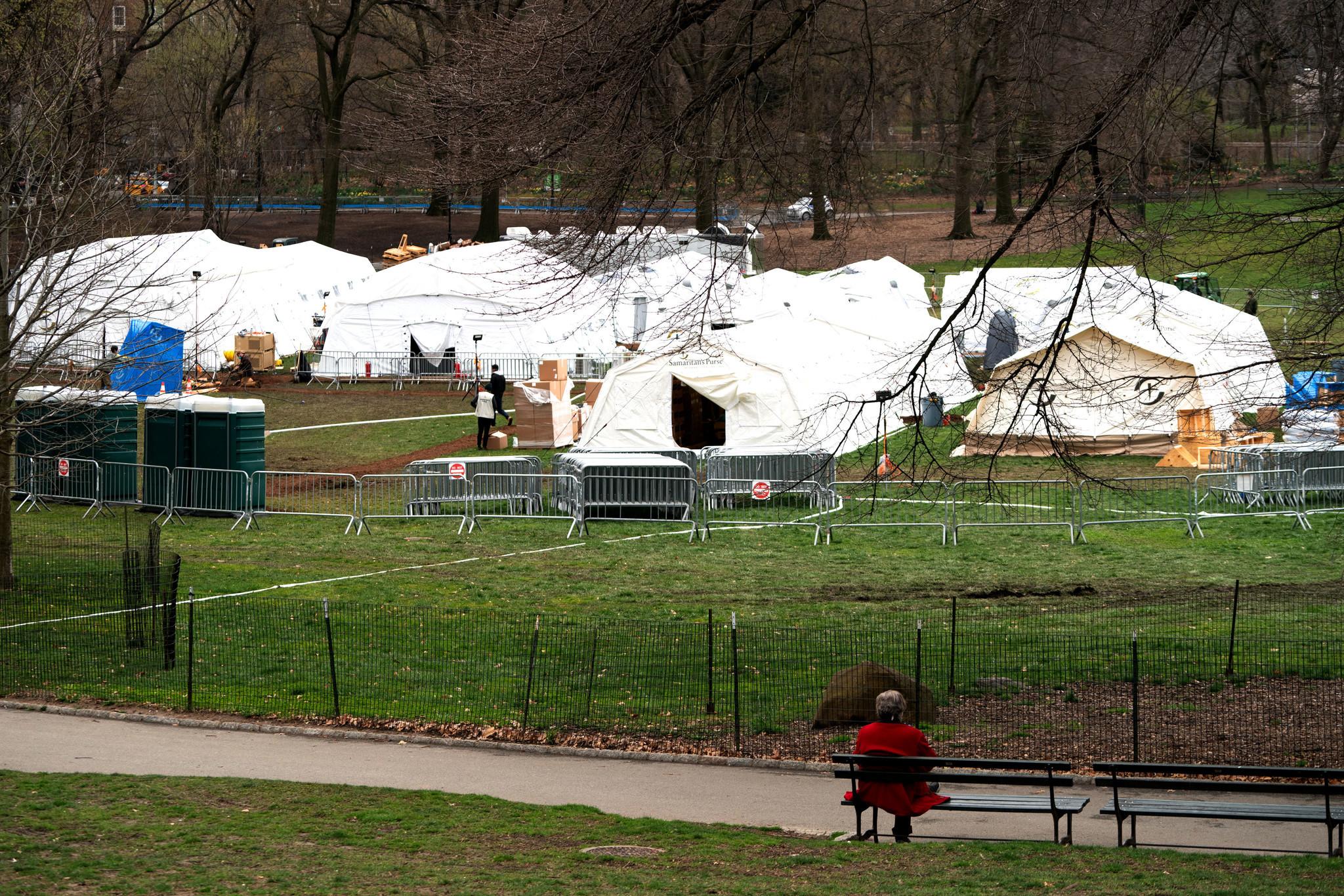 Praise the Samaritans: The Central Park field hospital run by Samaritan's Purse and Mt. Sinai deserves accolades, not criticism