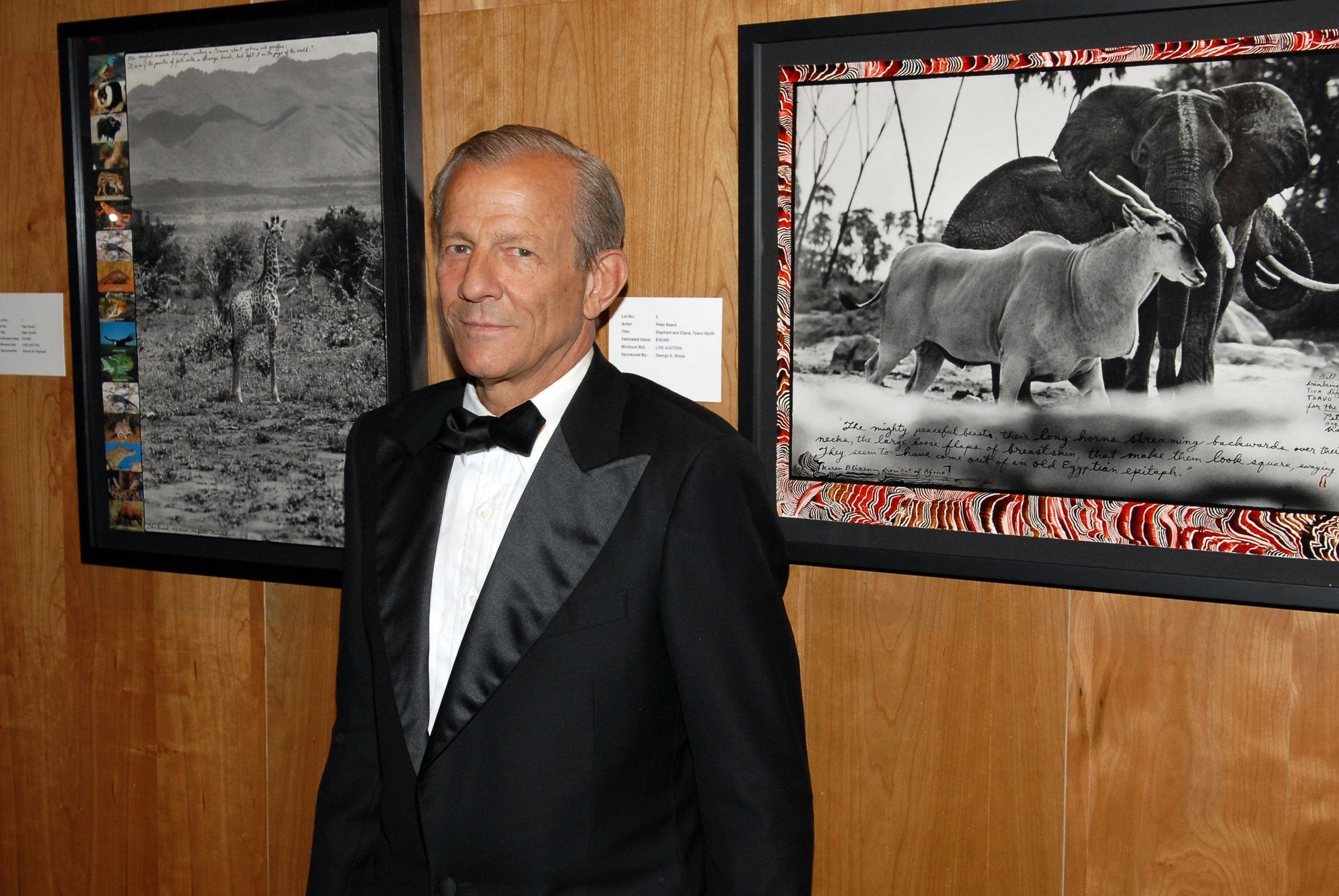 Noted photographer Peter Beard has gone missing near Montauk