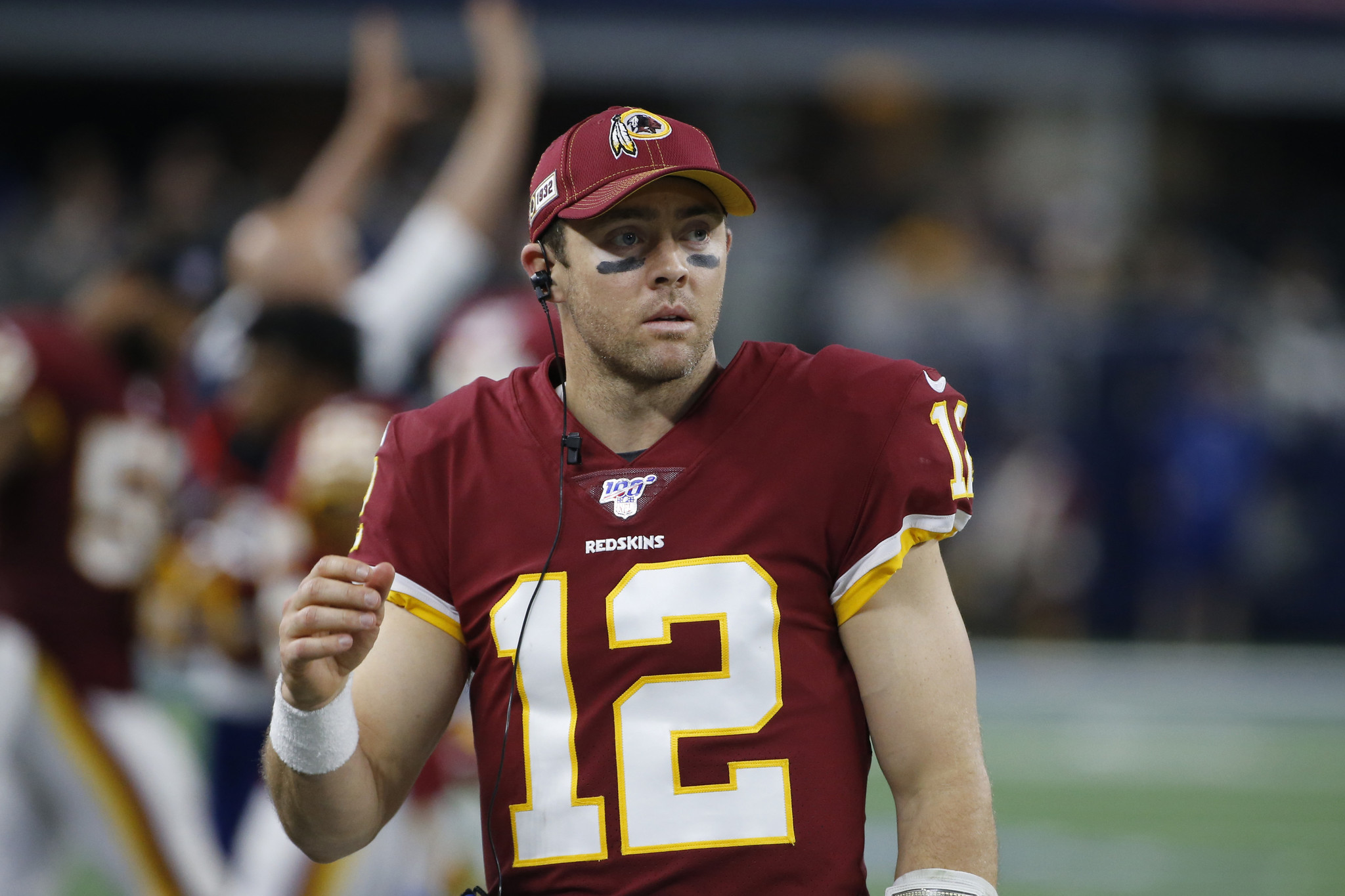 Colt McCoy hopes his experience with 2011 NFL lockout can provide meaningful insight for Daniel Jones
