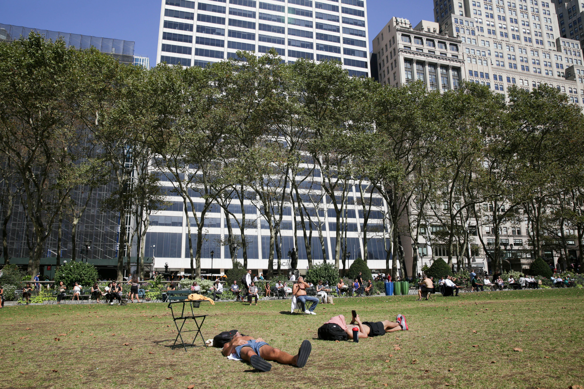 Public spaces in an age of social distancing: How to rethink parks after coronavirus