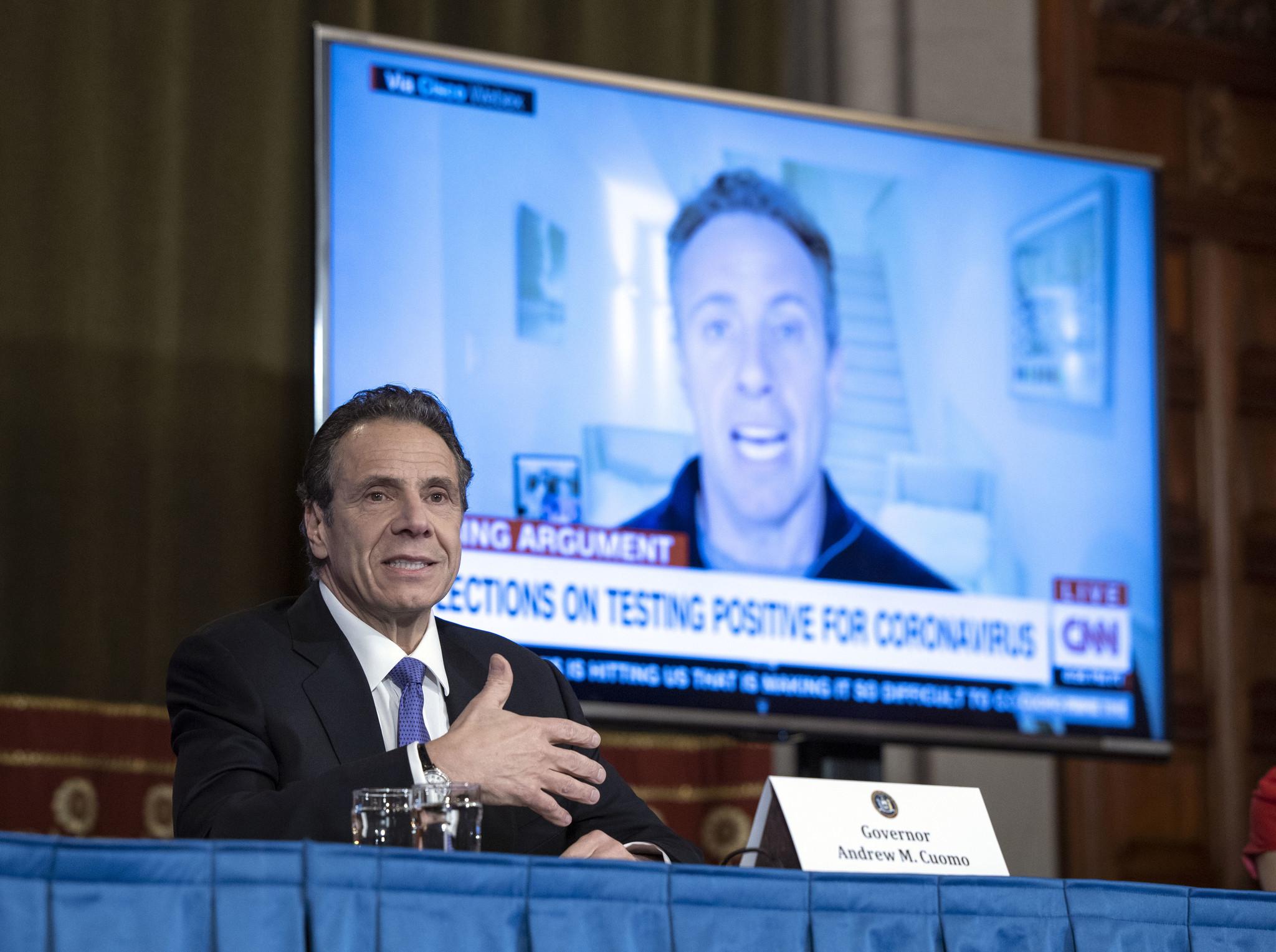 Chris Cuomo having wacky dreams about governor brother 'waving wand' as he battles coronavirus