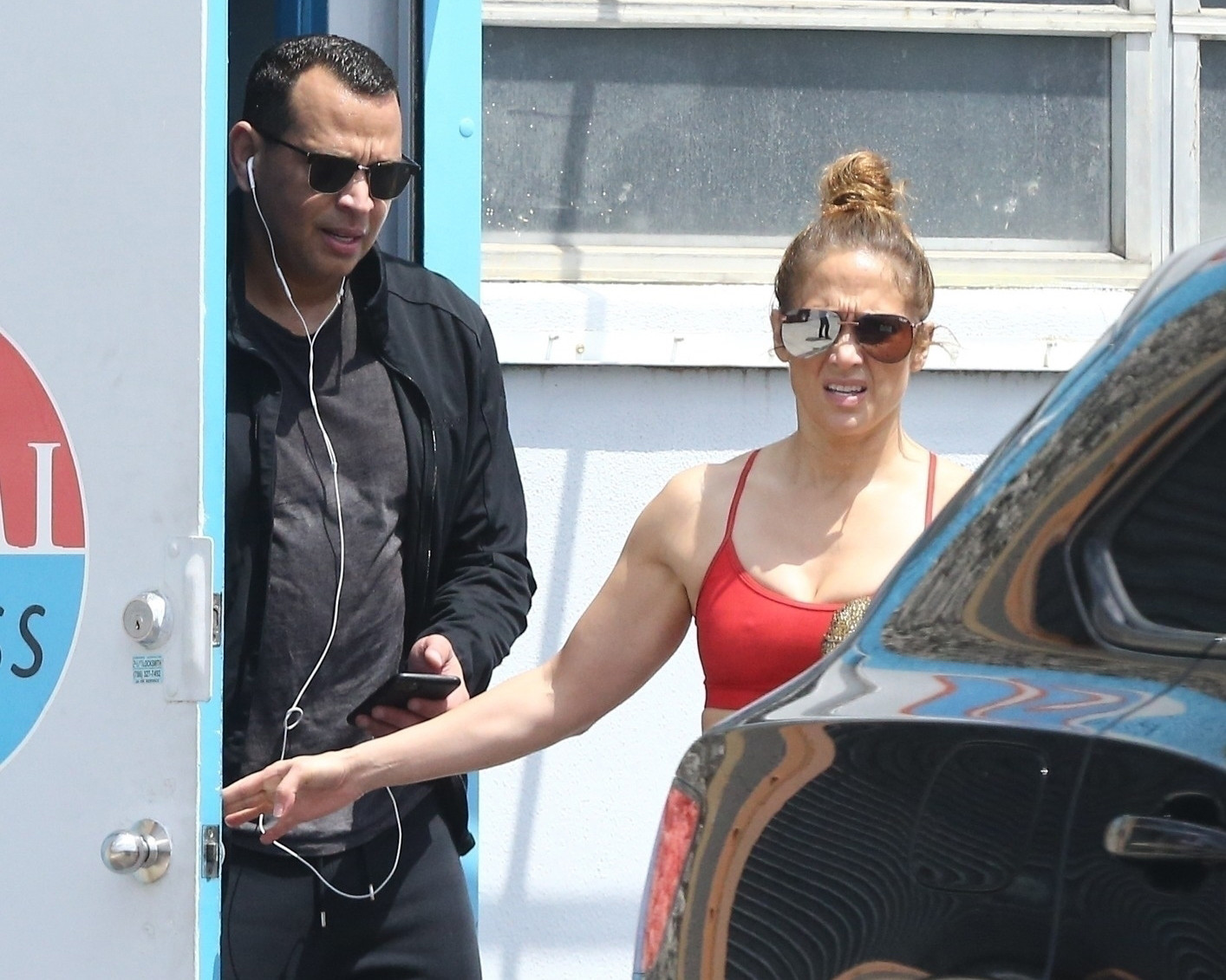 Jennifer Lopez, Alex Rodriguez had their last workout before Florida lockdown in already-closed gym