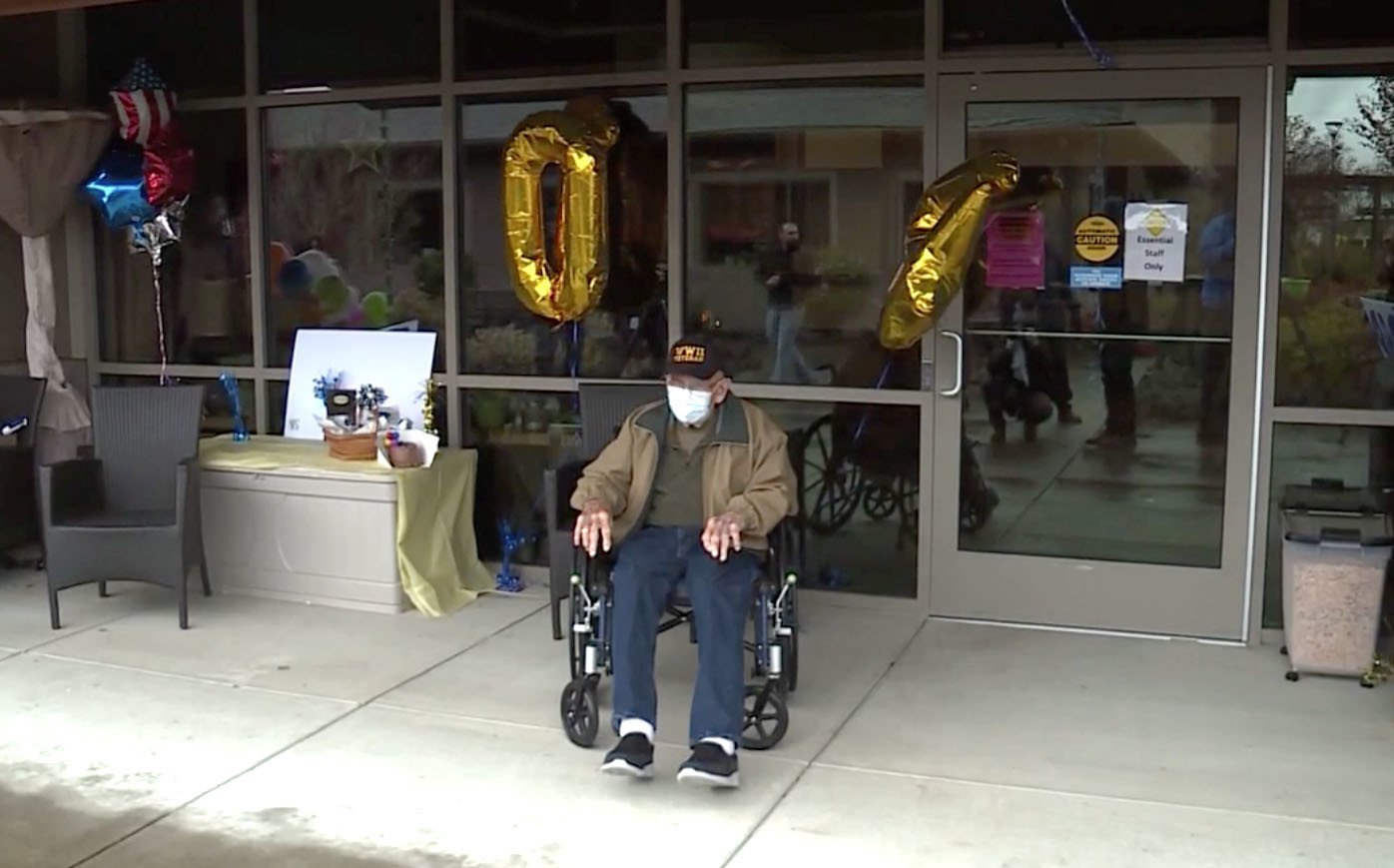 Oregon veteran recovers from coronavirus just on time for 104th birthday