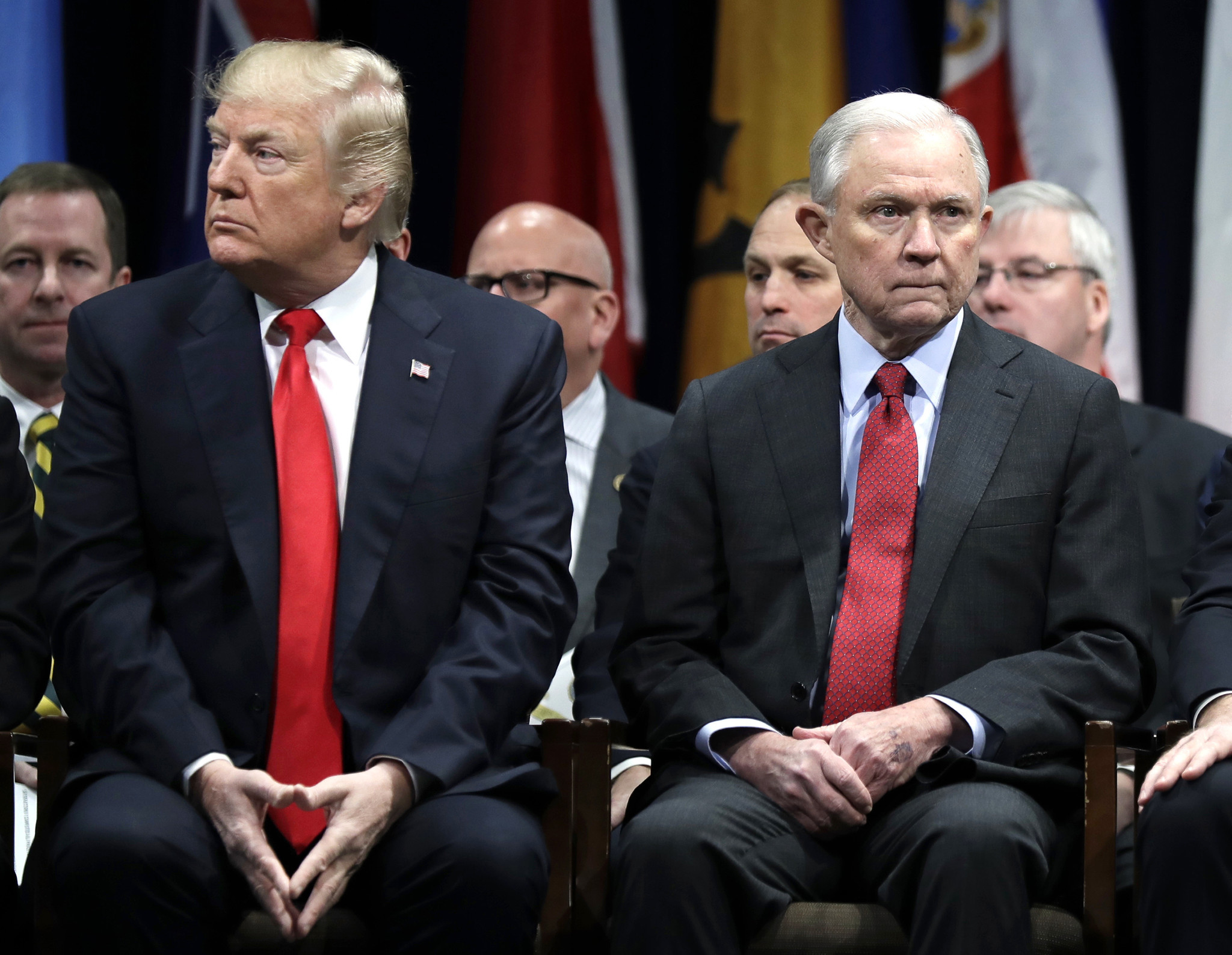 Trump warns 'delusional' Jeff Sessions to stop mentioning him in Alabama Senate campaign