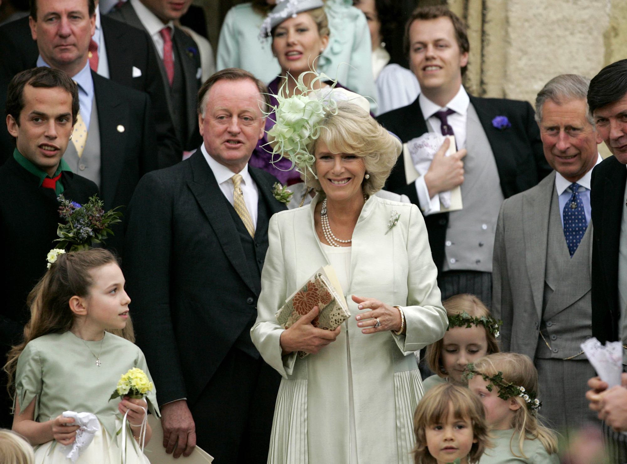 Andrew Parker Bowles, ex-husband of Duchess Camilla, tests positive for coronavirus