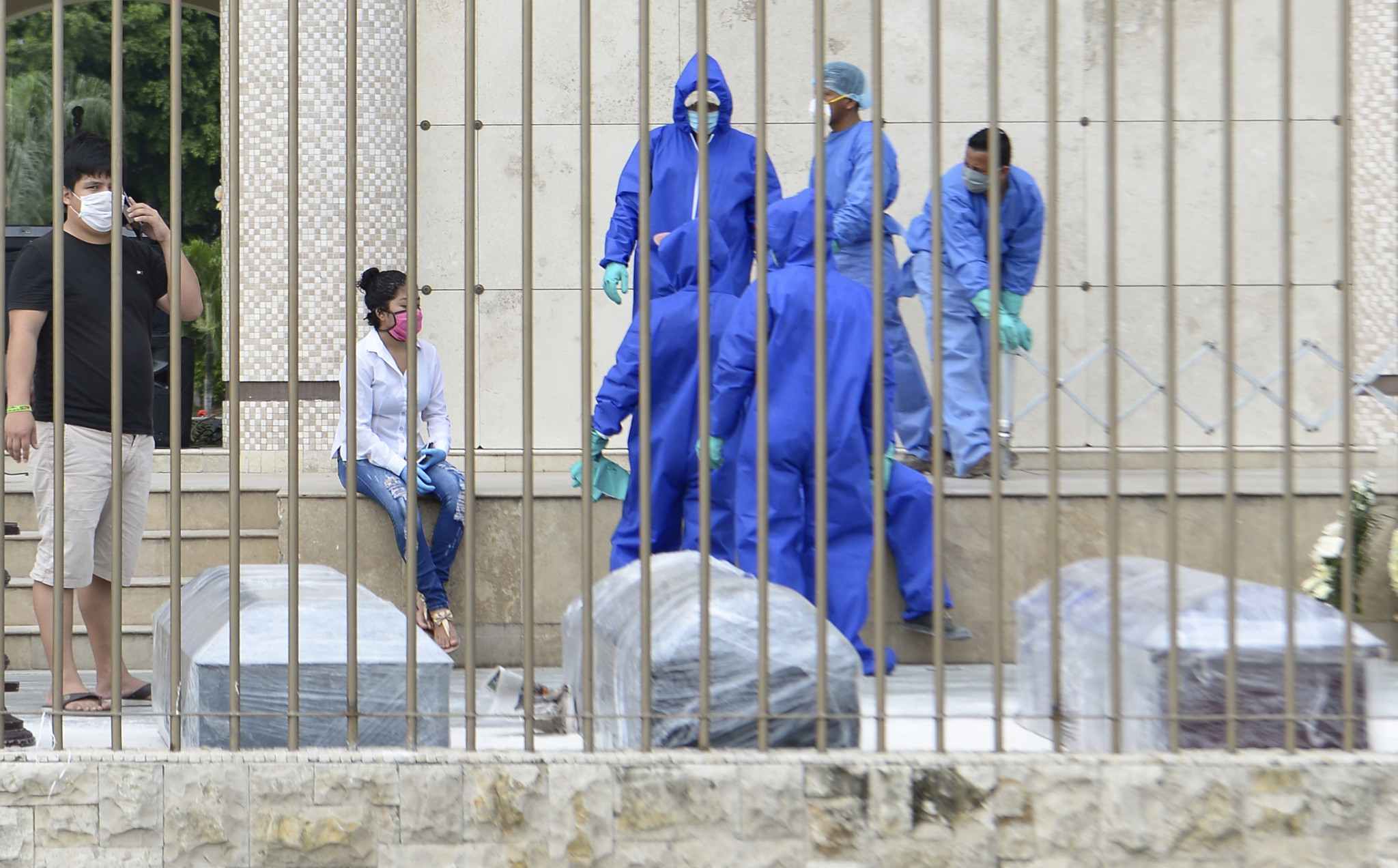 Bodies left in streets of Ecuador's biggest city as coronavirus ravages country