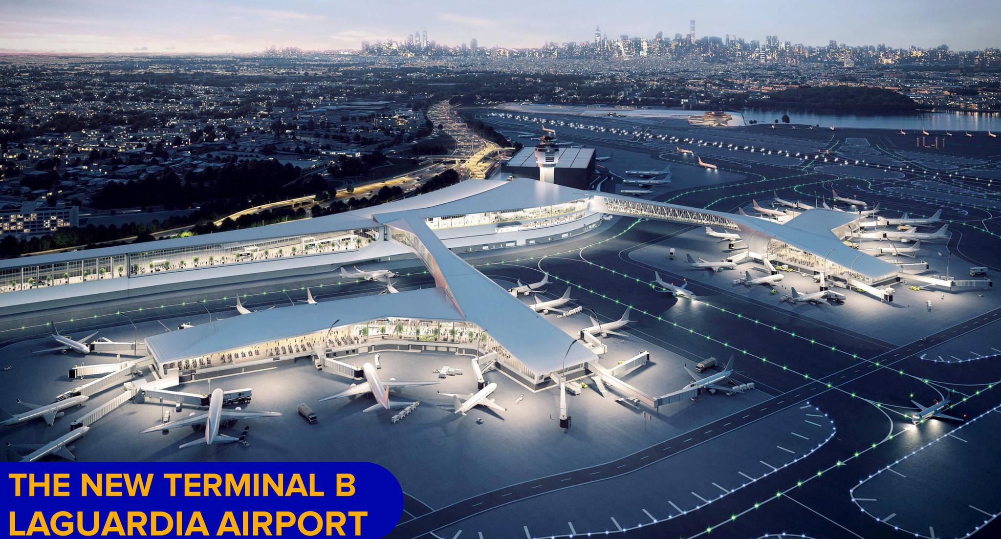 Coronavirus strains NYC's $8B LaGuardia Airport rebuilding project
