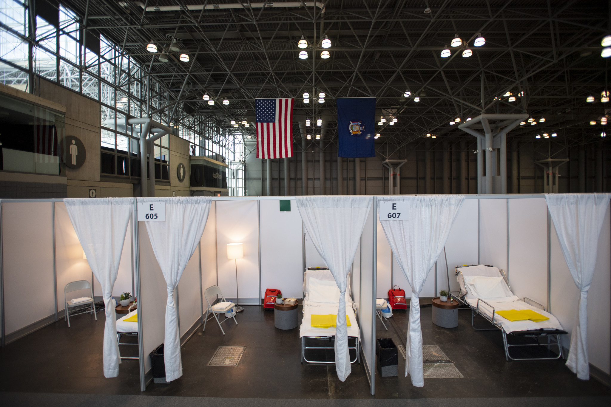 Javits Center in NYC to accept coronavirus patients