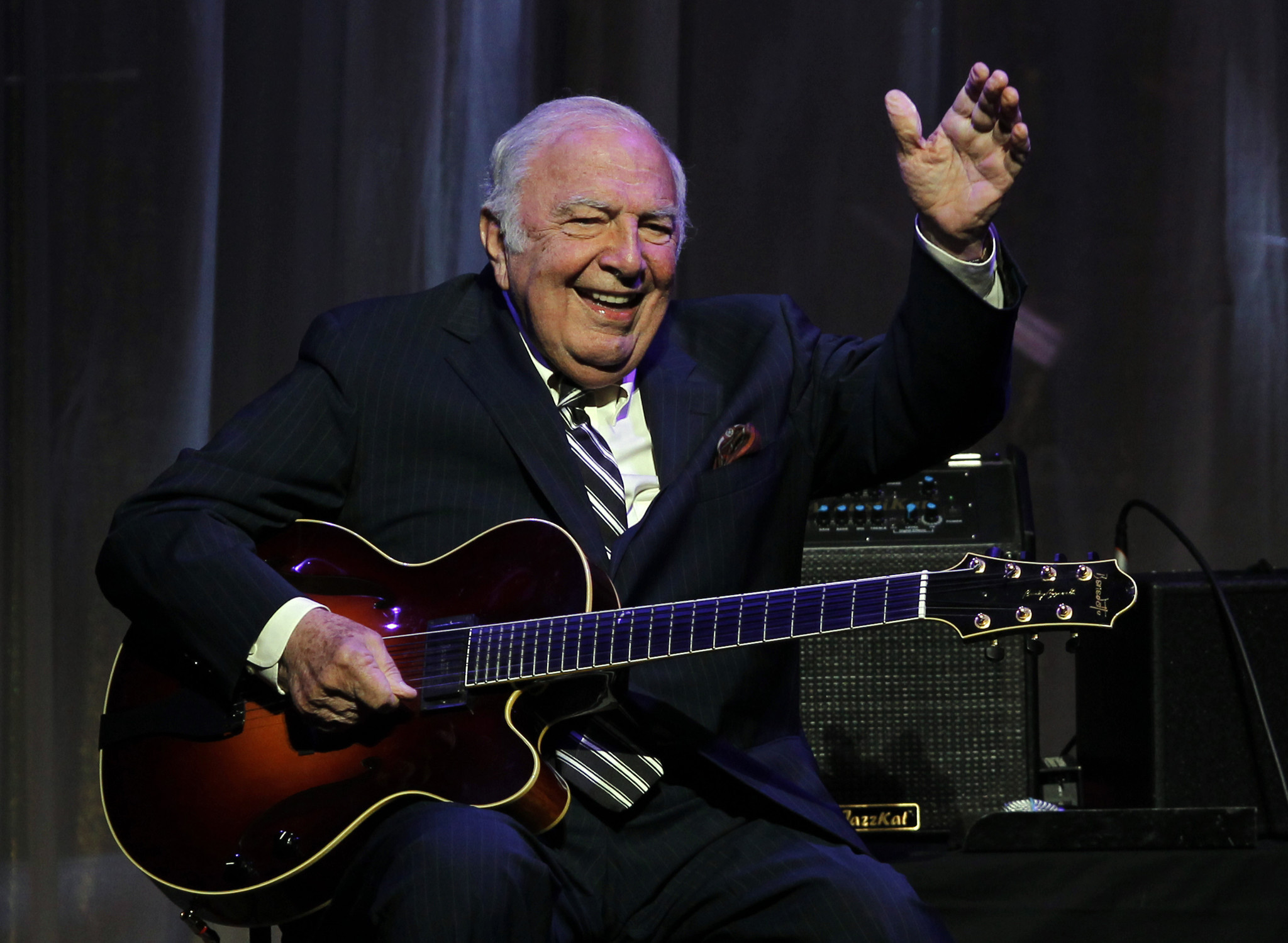 Jazz great Bucky Pizzarelli dies at 94 after testing positive for coronavirus