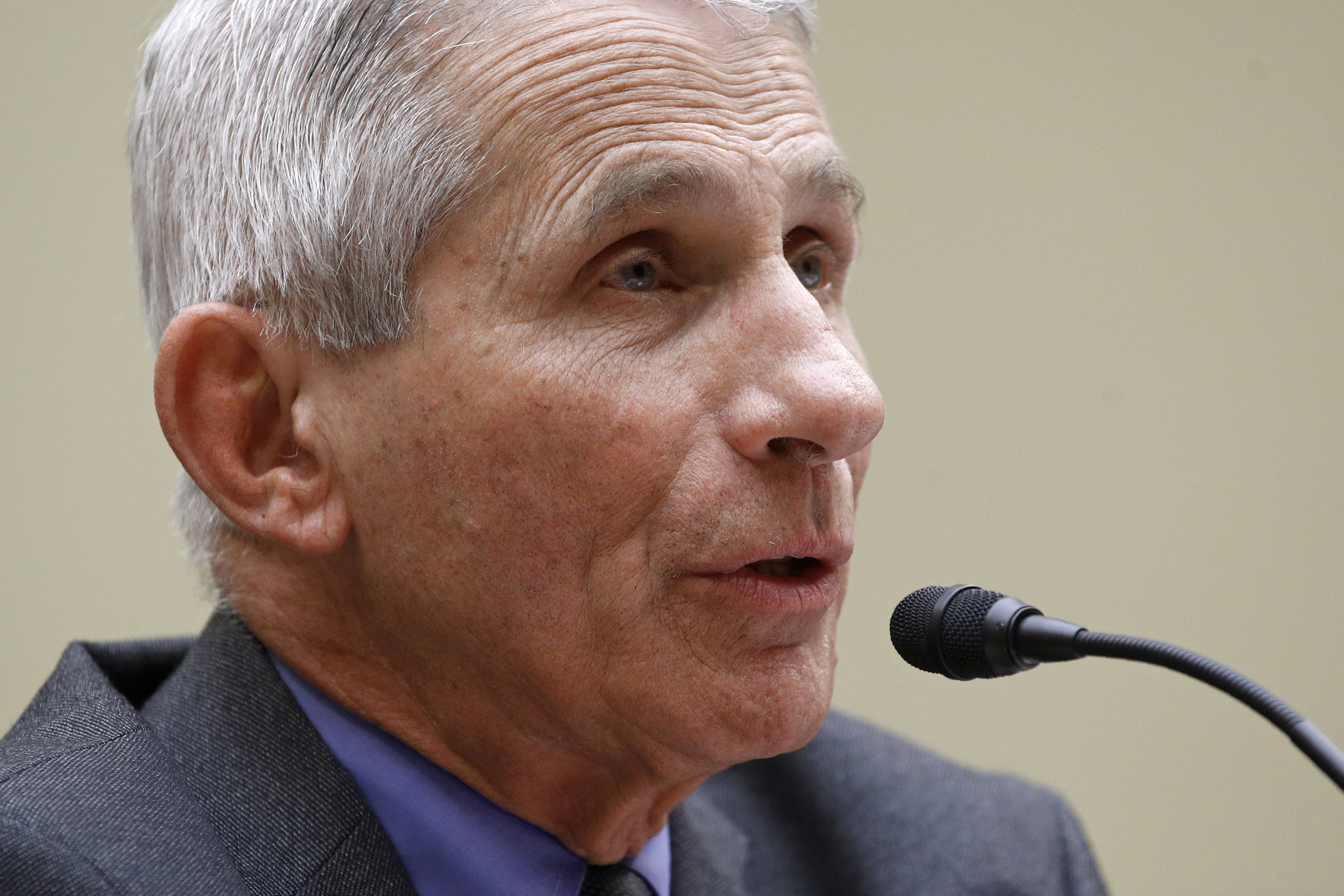Dr. Fauci: 'I don't understand' why there's no national stay-at-home order