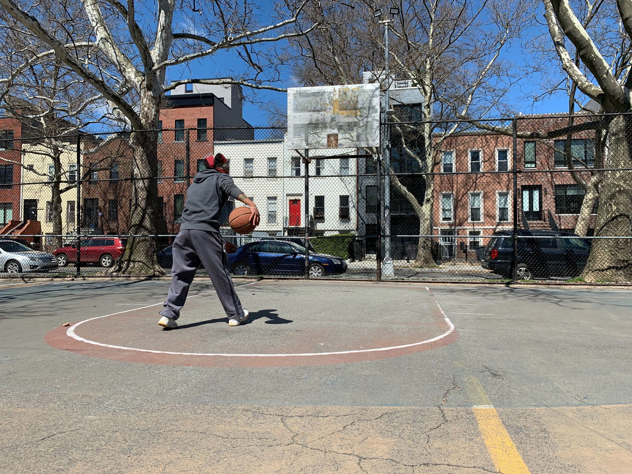 From Bed-Stuy to Harlem, NYC's famous playground basketball courts closed due to coronavirus pandemic