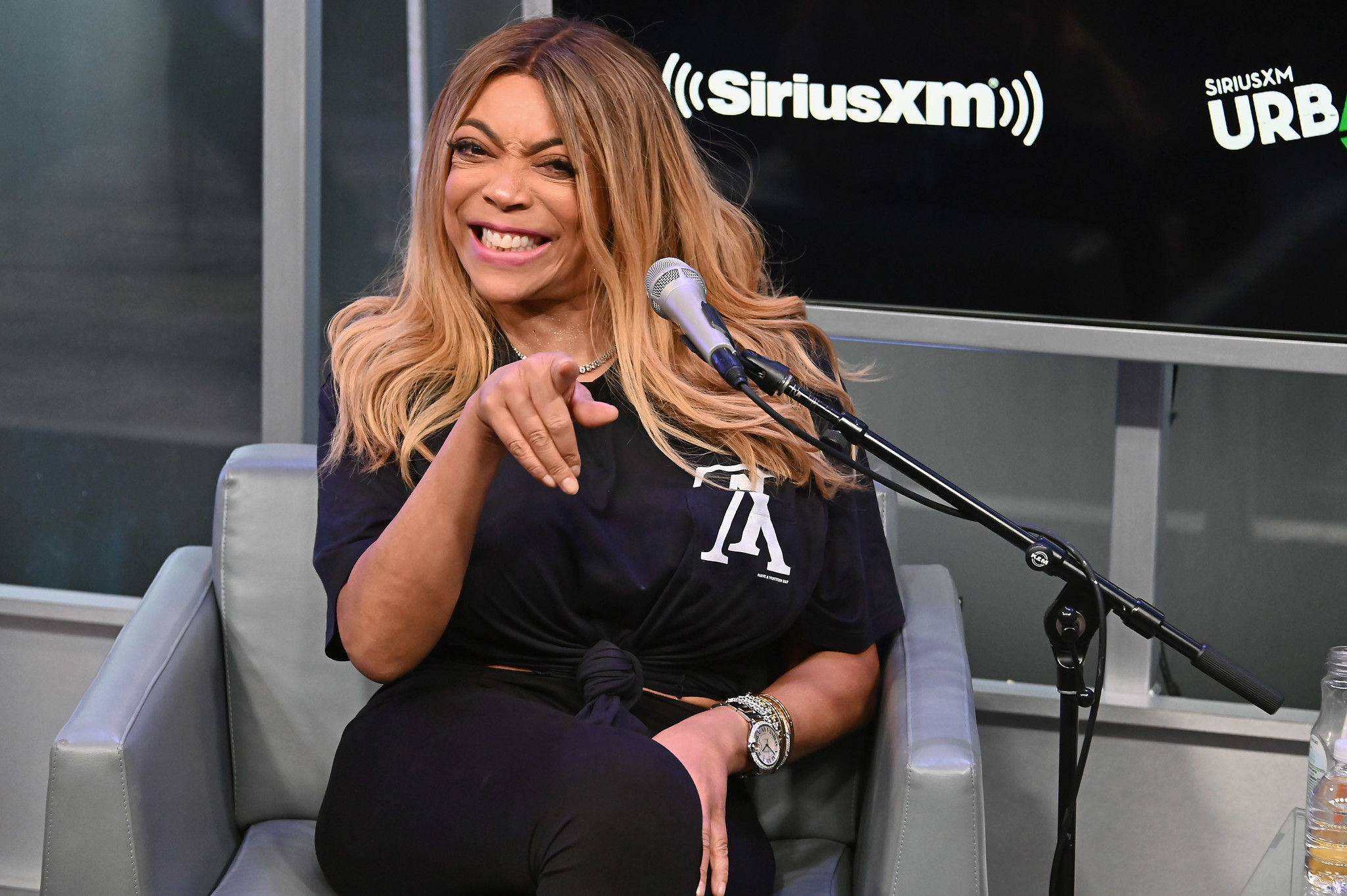 Guess Who's Back! Wendy Williams returns to daytime airwaves, portions of talk show taped from her home