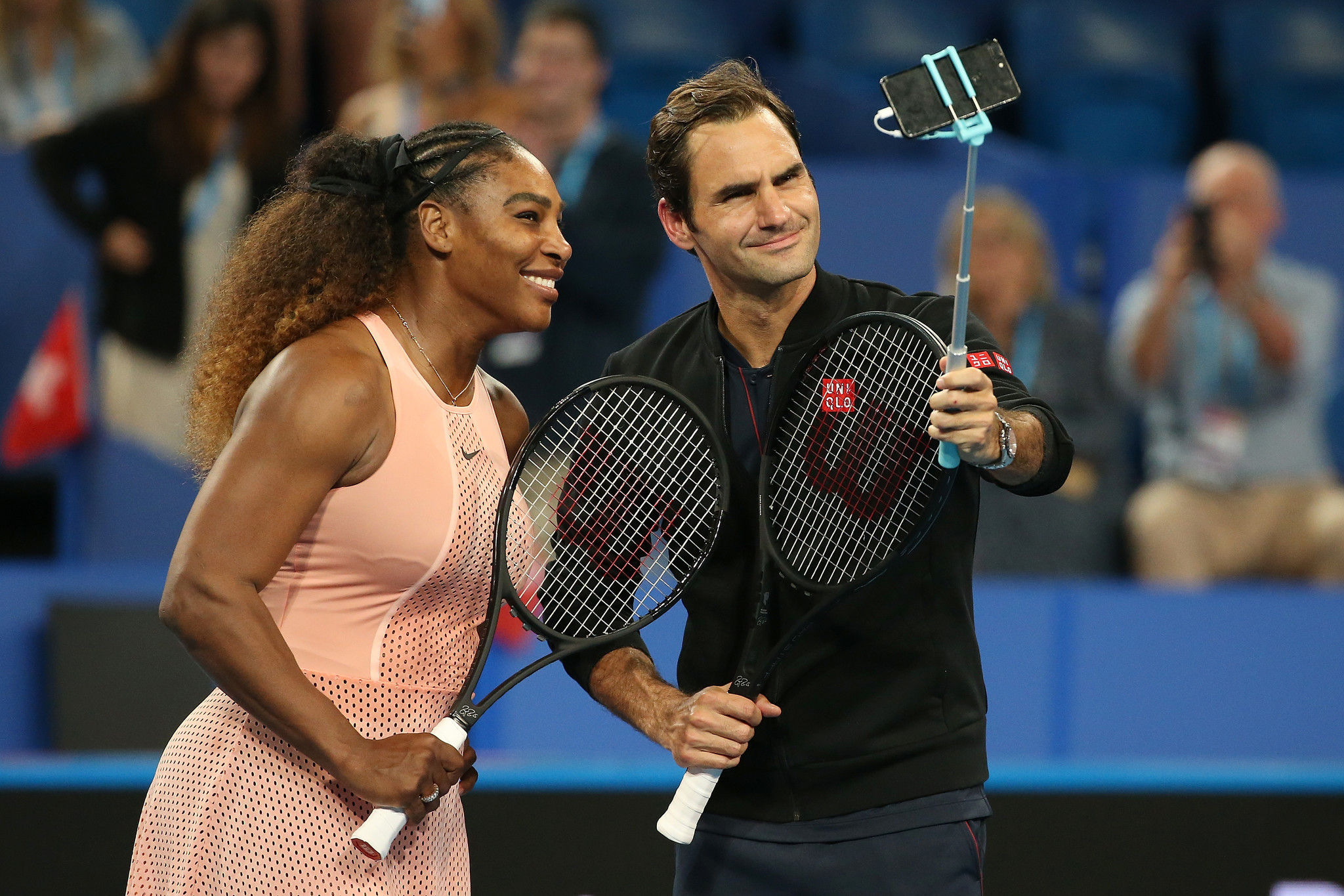 Serena Williams', Roger Federer's chase for final glory put on pause