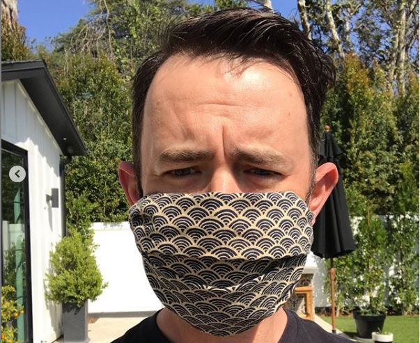 Colin Hanks provides free face mask-making tutorial after dad Tom recovers from coronavirus