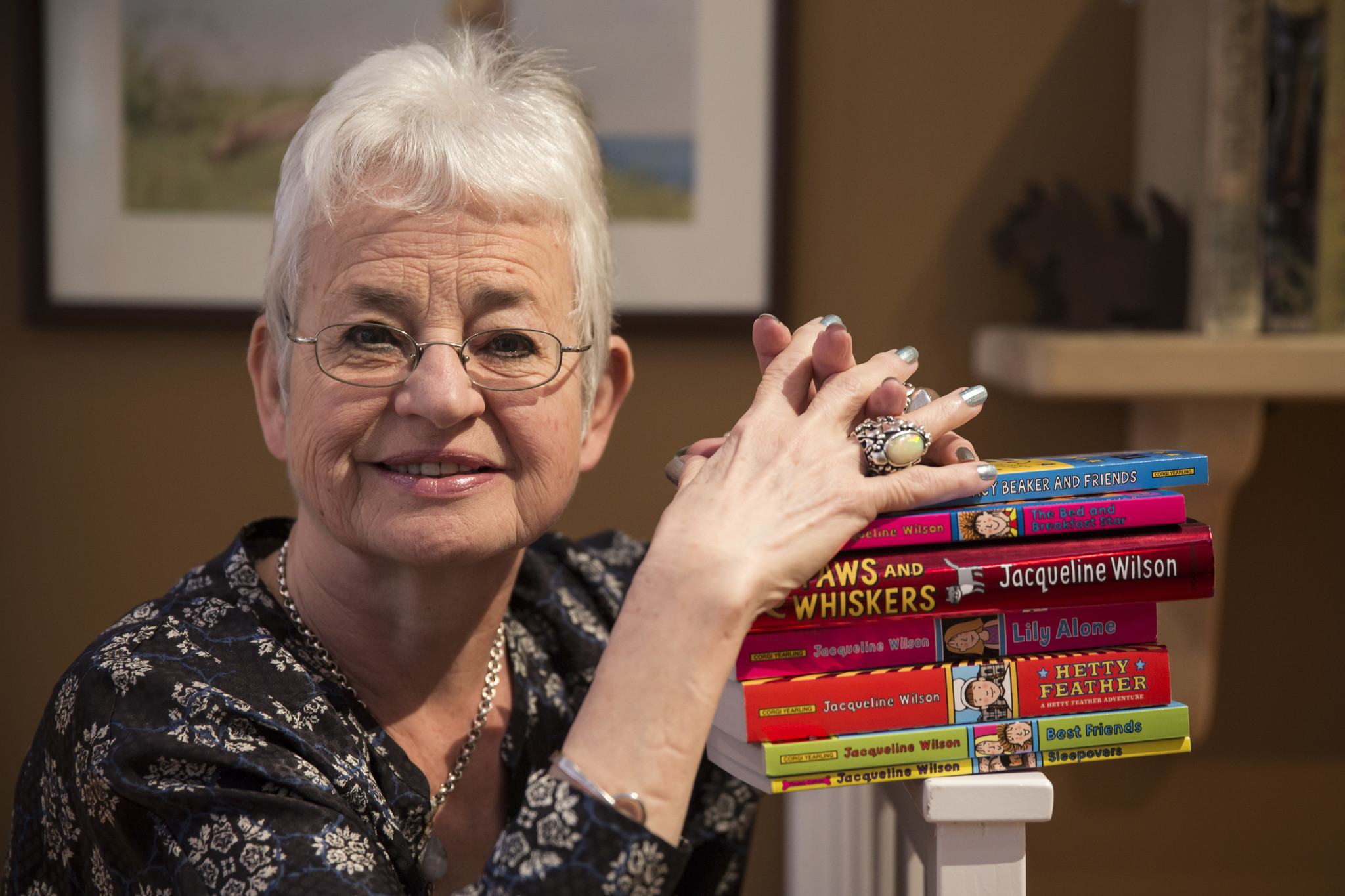 Bestselling children's book author Jacqueline Wilson reveals she's gay
