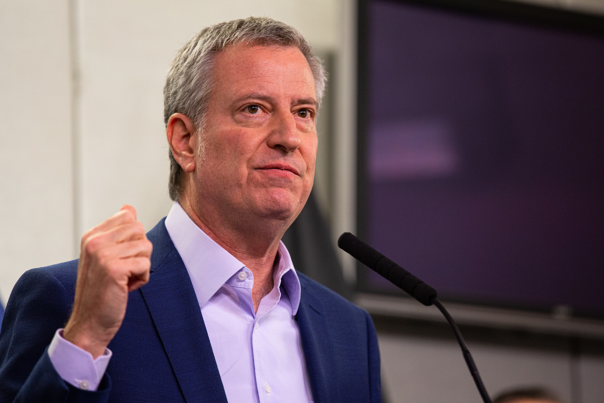 De Blasio calls coronavirus 'many mini-Katrina's' and calls for national mobilization