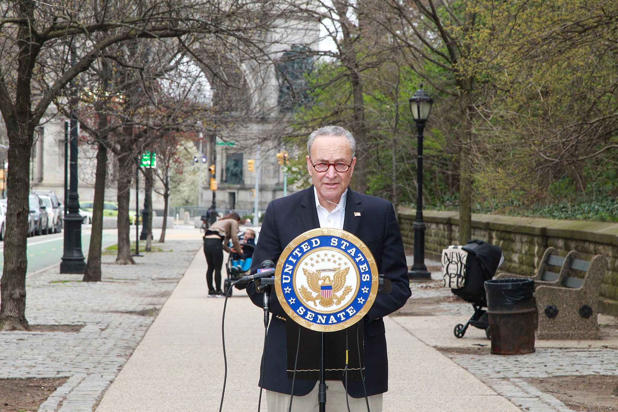 Schumer calls for Trump to appoint military leader as coronavirus czar