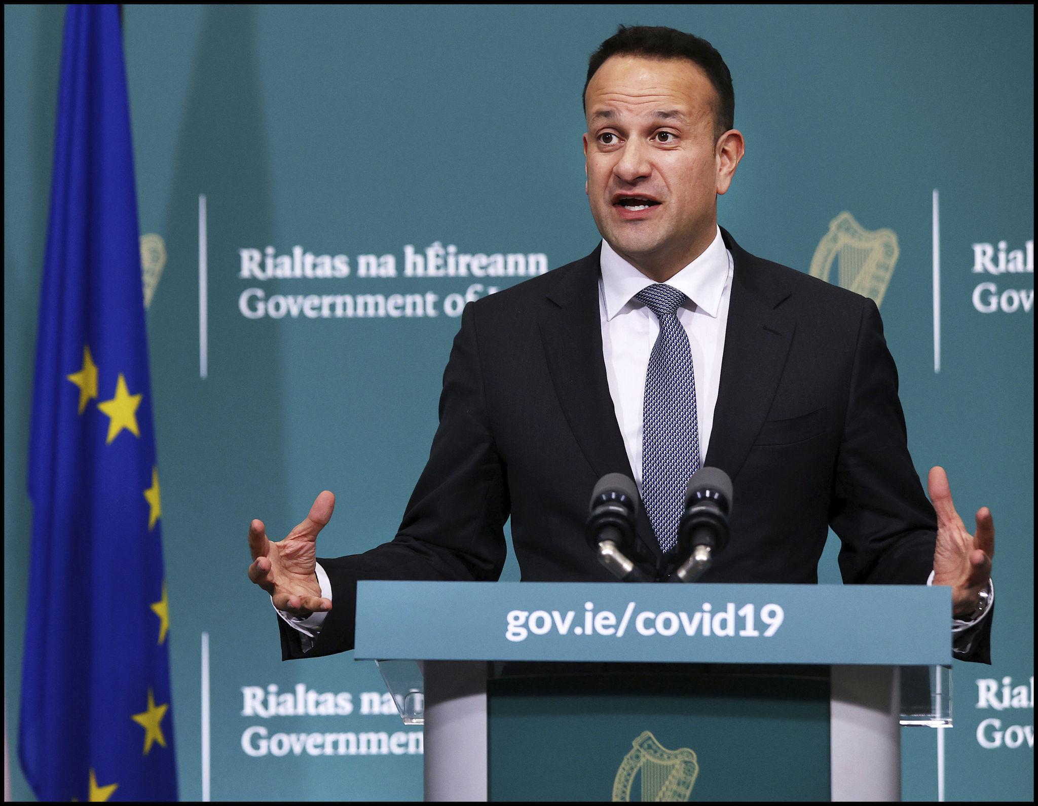 Irish prime minister to return to work as doctor during coronavirus pandemic