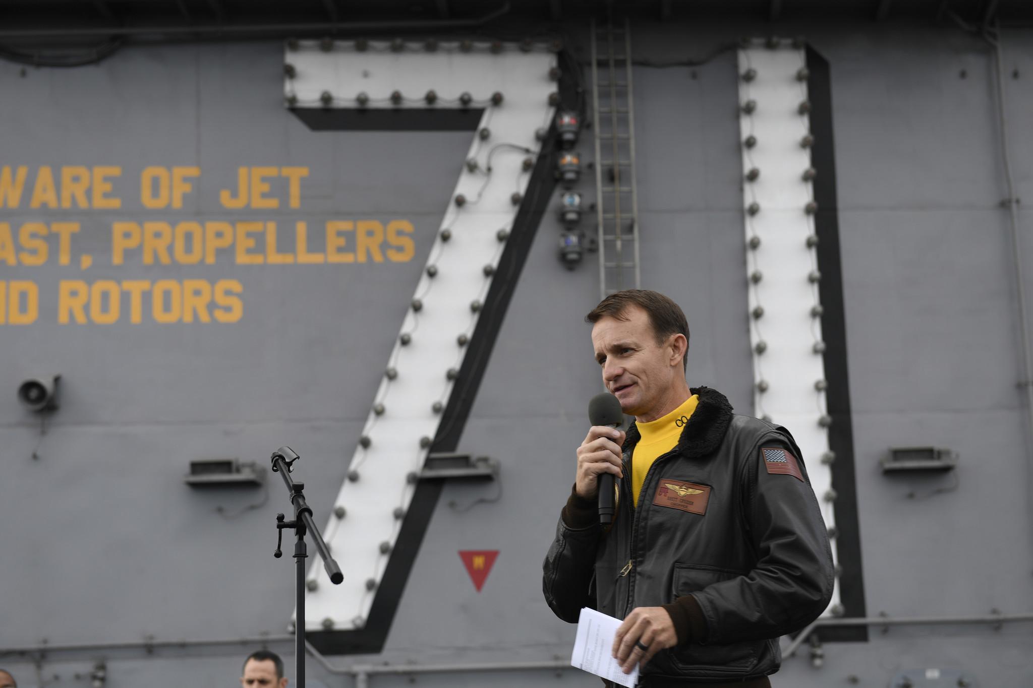 Acting Navy secretary blasts ousted captain as 'stupid' over coronavirus letter