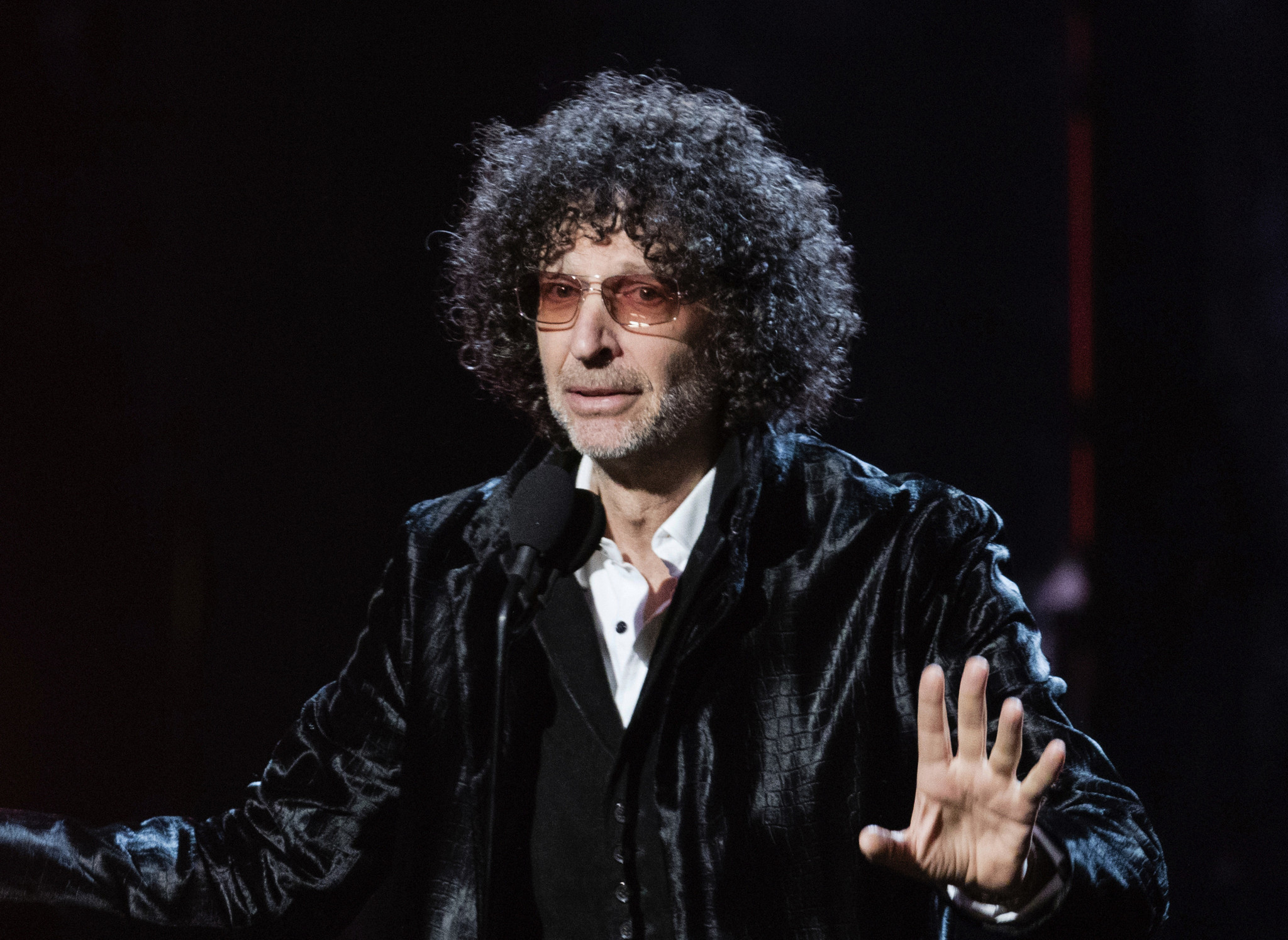 Howard Stern got a 97-cent check during these tough times and he's cashing it