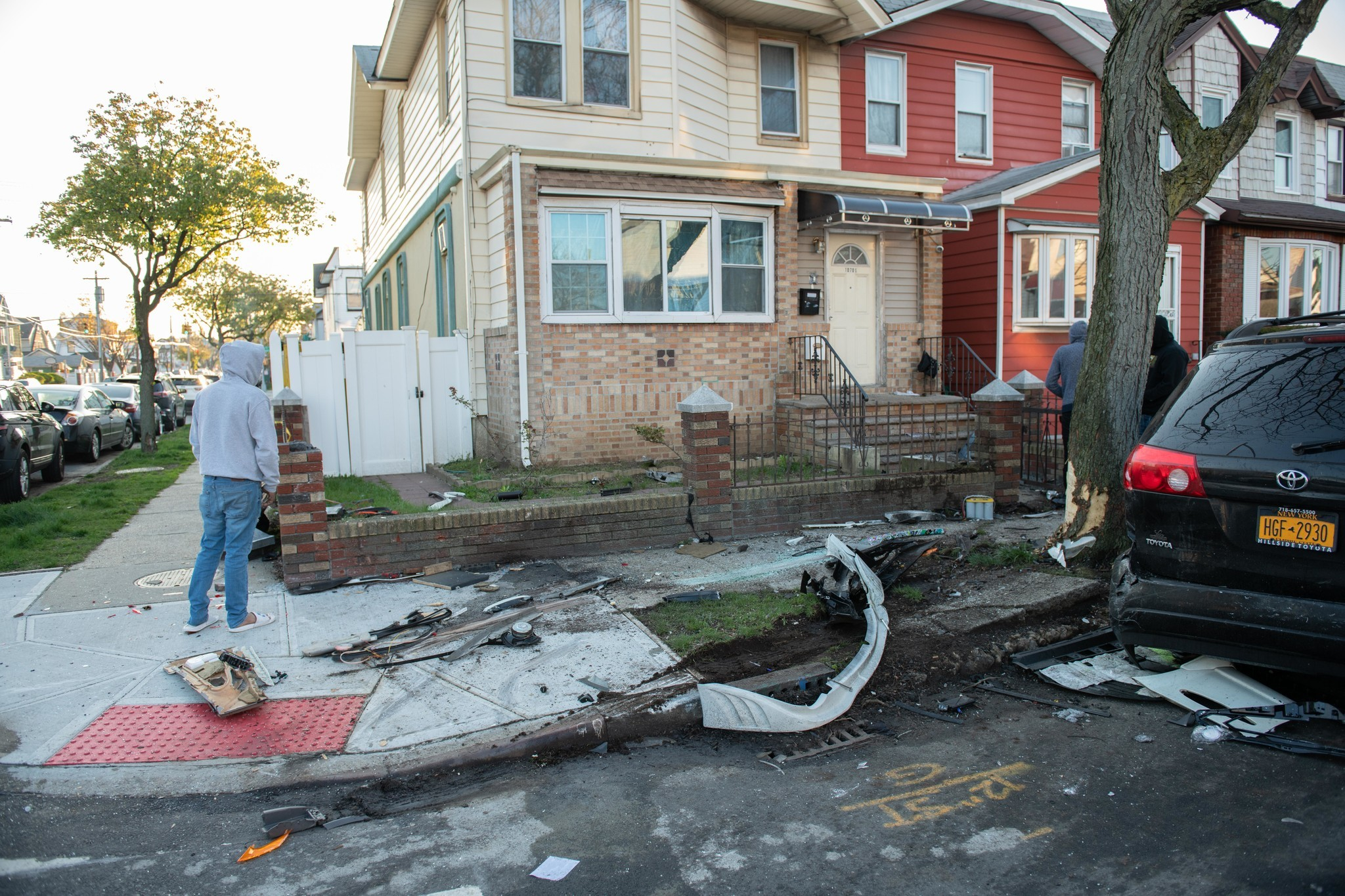 NYC man, 21, dies in crash sparked by unlicensed driver: cops