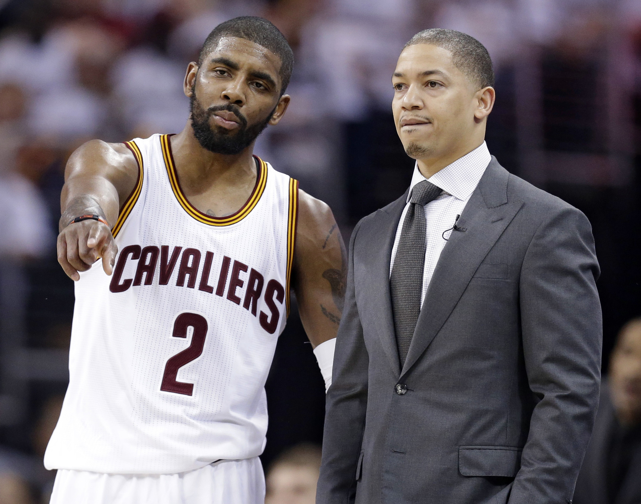 Ty Lue is down for Kyrie Irving reunion in Brooklyn: source