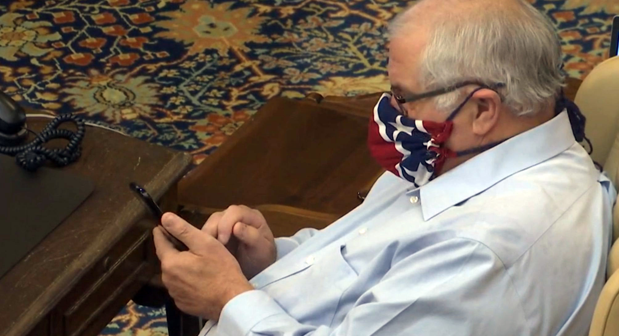 Michigan lawmaker apologizes for face mask resembling Confederate flag: 'I did not intend to offend anyone'