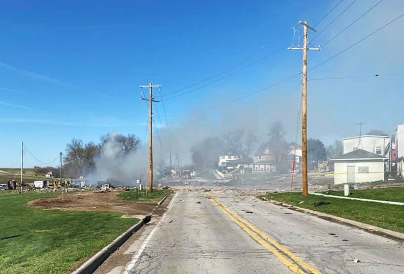 Two hospitalized after Iowa gas station explosion