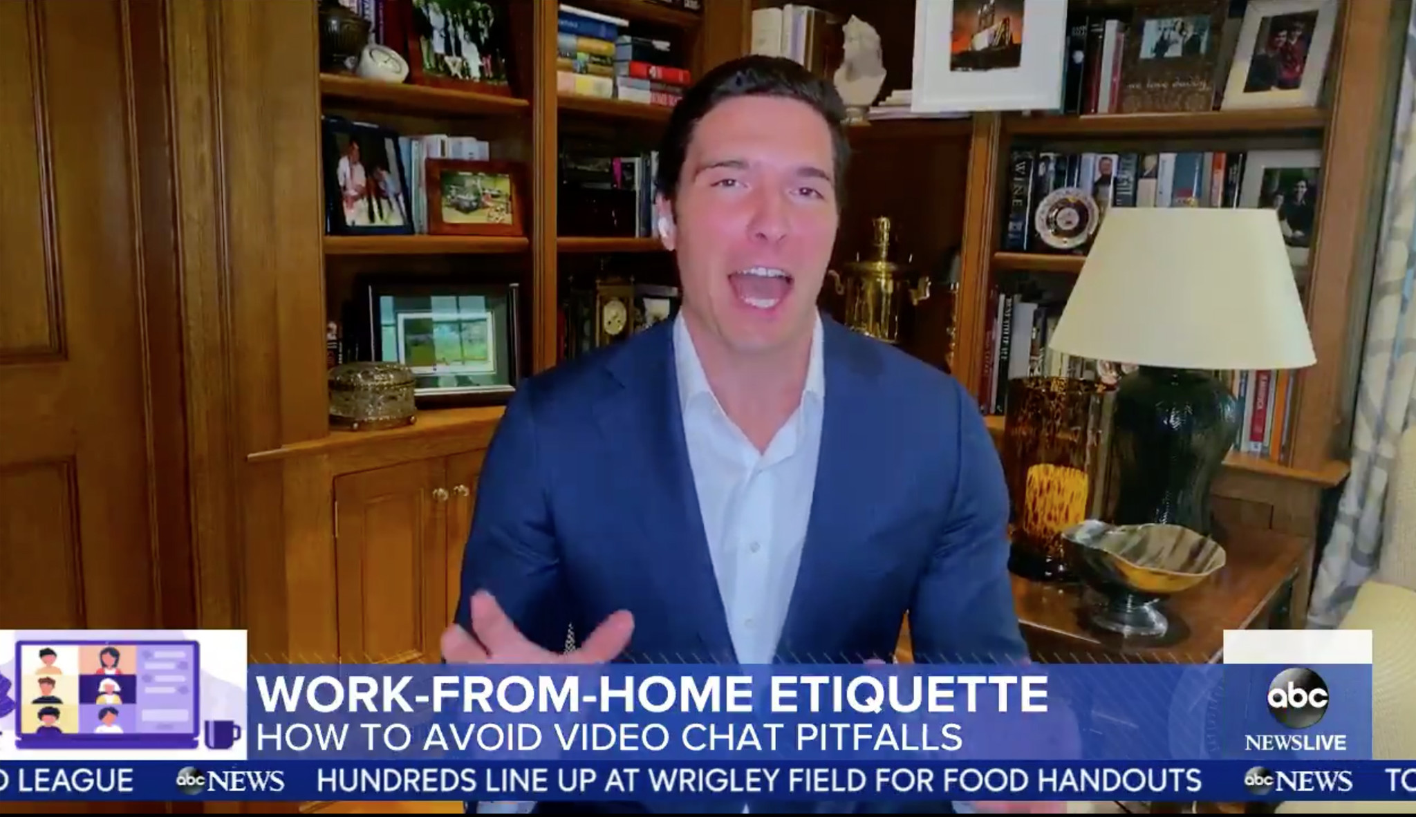 ABC reporter talks 'work-from-home etiquette' after pantsless 'GMA' appearance
