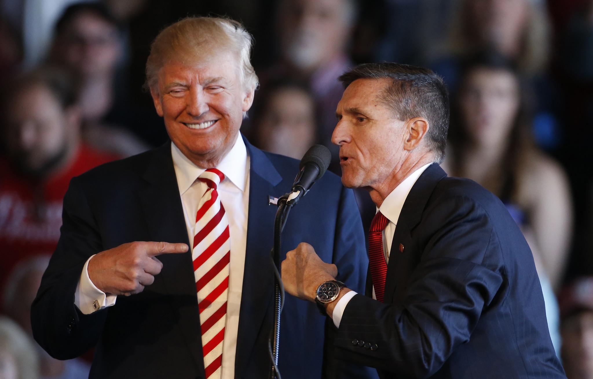 Trump says he'd 'certainly consider' rehiring Michael Flynn, pardoning his Russia probe guilty plea