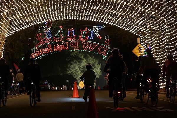 14th Annual Holiday Light Festival La Times