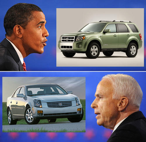 Presidential Cars Then And Now