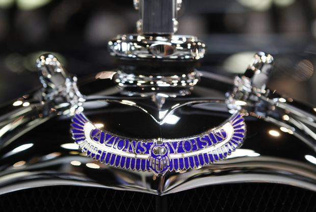 Voisin cars are some of the most elaborate and expensive cars produced in the post-World War I era.
